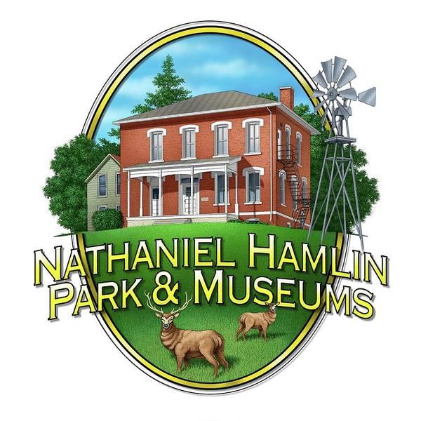 Digital Art - Nathaniel Hamlin Museum by Scott Ross