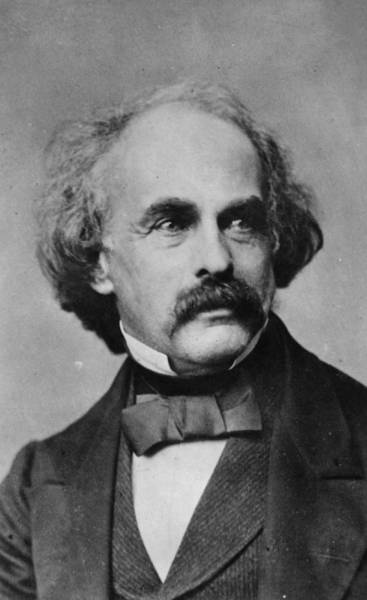 Nathaniel Photograph - Nathaniel Hawthorne by Hulton Archive