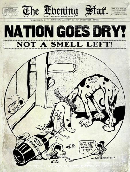 Nation Photograph - Nation Goes Dry by Jon Neidert
