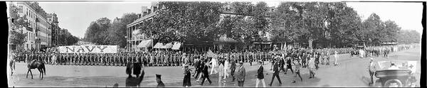 Wall Art - Photograph - National Army Parade, Pennsylvania Ave by Fred Schutz Collection