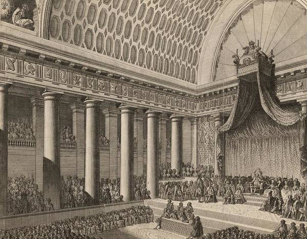 18th Century Digital Art - National Assembly by Rischgitz