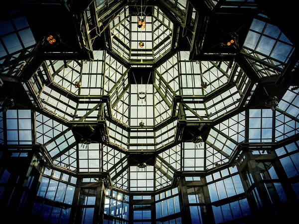 Photograph - Glass Ceiling National Gallery Of Canada by Juan Contreras