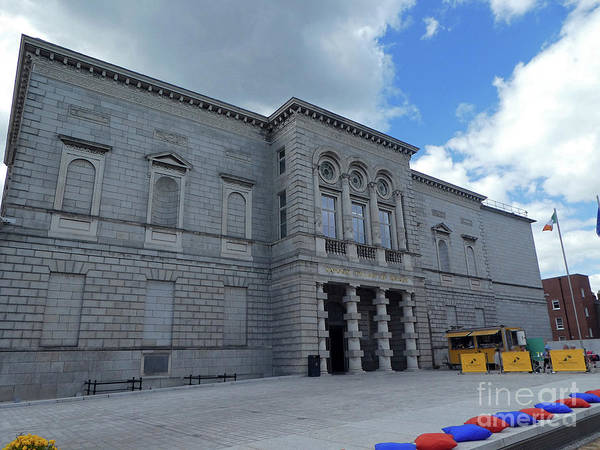 Photograph - National Gallery Of Ireland by Cindy Murphy