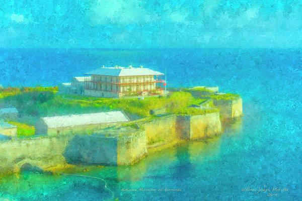 Painting - National Museum Of Bermuda by Bill McEntee
