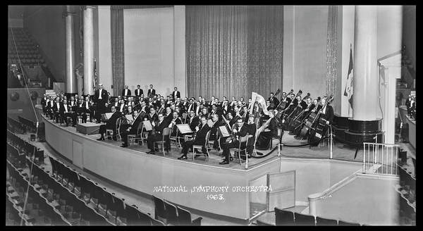Wall Art - Photograph - National Symphony Orchestra Conducted by Fred Schutz Collection