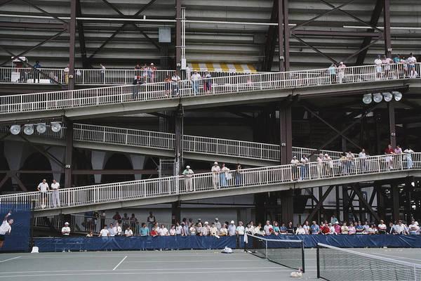 Photograph - National Tennis Center by Alfred Gescheidt