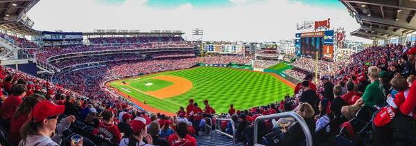Photograph - Nationals Park Pano by Jeremy Guerin