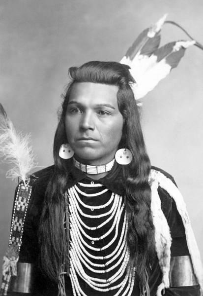 Wall Art - Photograph - Native American Joseph Cregg - 1900 by War Is Hell Store