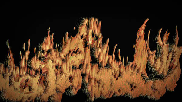 Digital Art - Nattland #i0 by Leif Sohlman