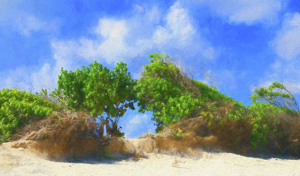 Photograph - Natural Archway On Rendezvous Bay Anguilla by Ola Allen