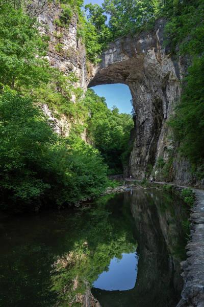 Wall Art - Photograph - Natural Bridge Day 1 by Linda Eszenyi