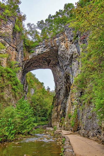 Photograph - Natural Bridge by Dale R Carlson