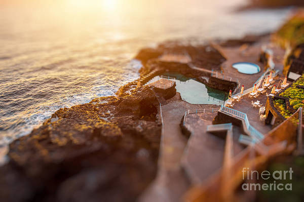 Wall Art - Photograph - Natural Pools In Charco Azul Resort On by Rosshelen