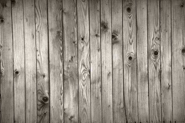 Material Photograph - Natural Wooden Background by Macroworld