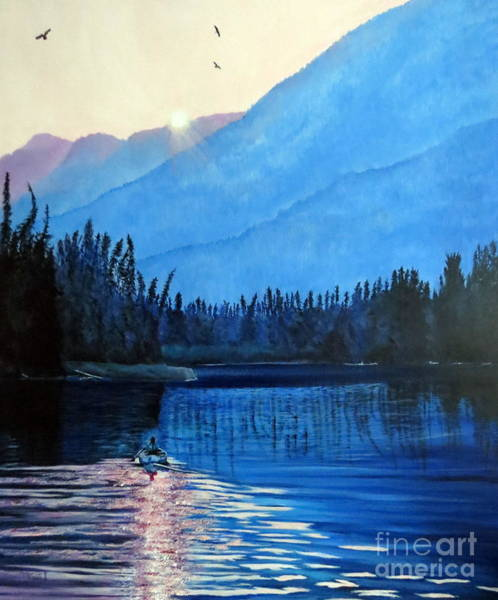 Painting - Nature Feels by Marilyn McNish