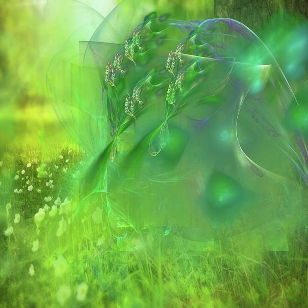 Wiese Digital Art - Nature by Roland Zulehner