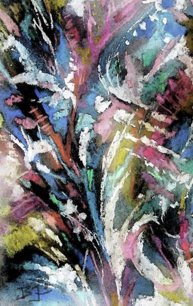 Mixed Media - Nature Tracks by Jean Batzell Fitzgerald