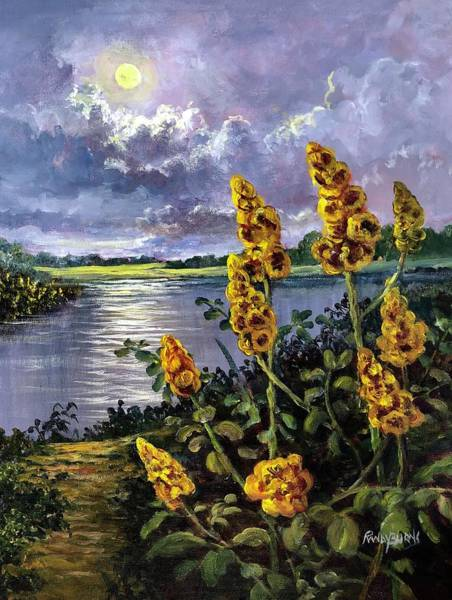 Painting - Nature's Candlesticks by Randy Burns