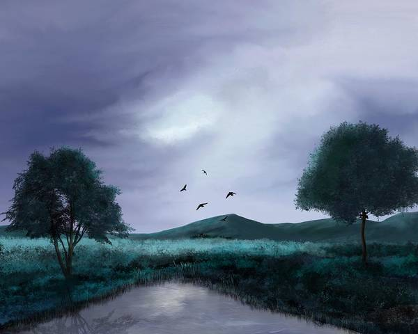 Painting - Natures Canvas by Mark Taylor