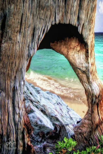 Digital Art - Nature's Window by Pennie McCracken