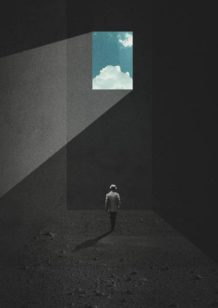 Wall Art - Digital Art - Nausea by Fran Rodriguez