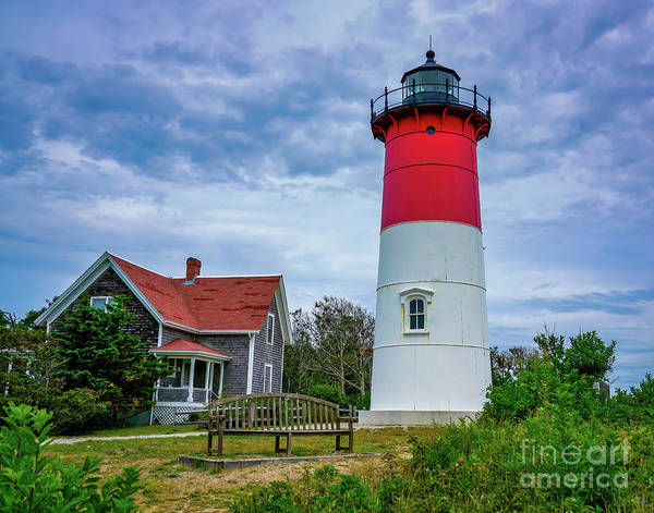 Wall Art - Photograph - Nauset Lighthouse In Cape Cod by DAC Photo