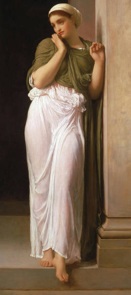 Wall Art - Painting - Nausicaa, 1878 by Lord Frederic Leighton