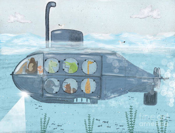 Wall Art - Painting - Nautical Explorers by Bri Buckley