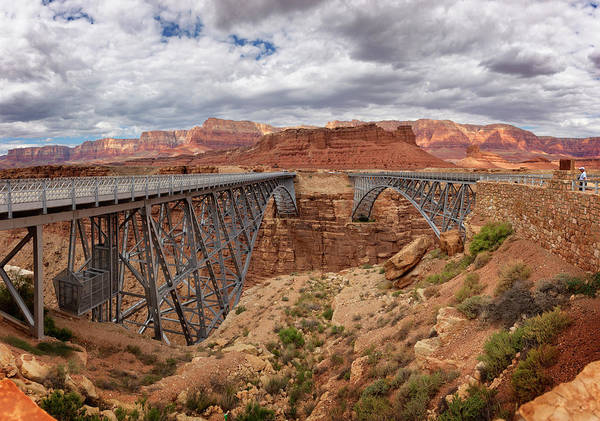 Wall Art - Photograph - Navajo Bridge by Ricky Barnard