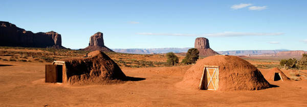 Wall Art - Photograph - Navajo Hogan Dwellings In Monument by Premium Uig