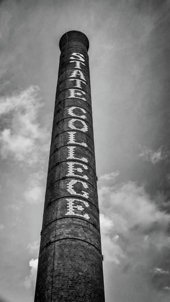 Wall Art - Photograph - Ncsu Smokestack by Stephen Stookey
