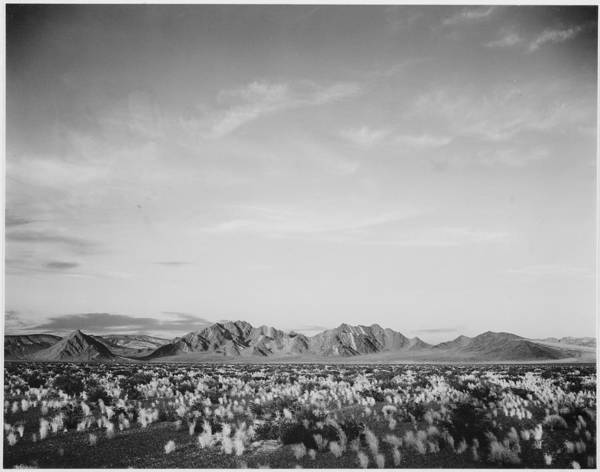 Horizontal Landscape Photograph - Near Death Valley National Monument by Buyenlarge