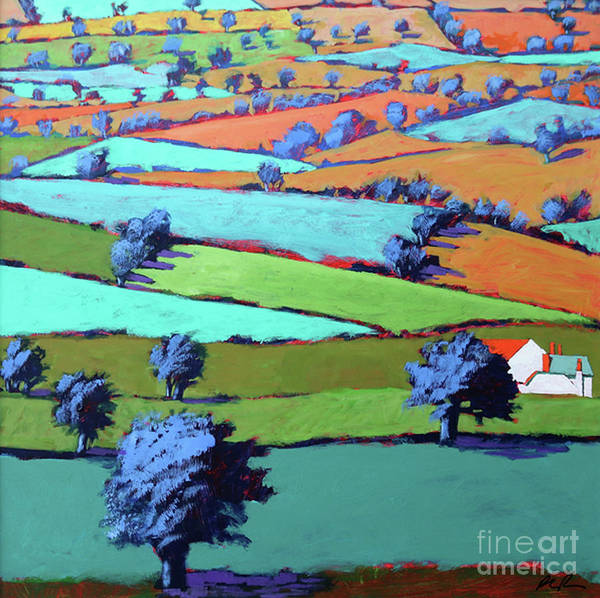 Wall Art - Painting - Near Sidmouth by Paul Powis