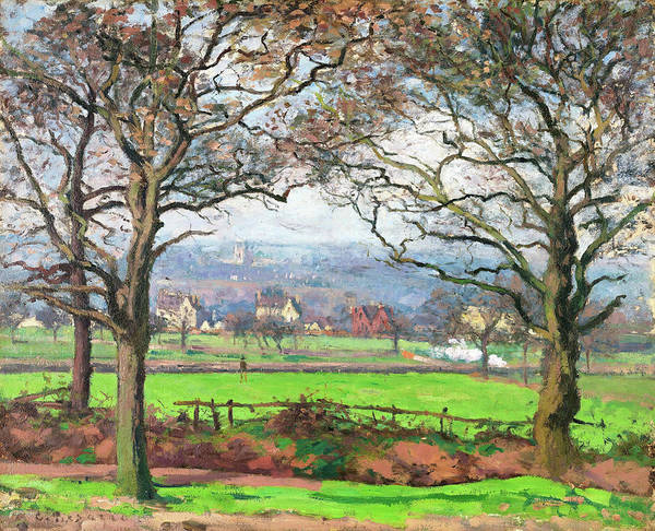 Country Living Painting - Near Sydenham Hill - Digital Remastered Edition by Camille Pissarro