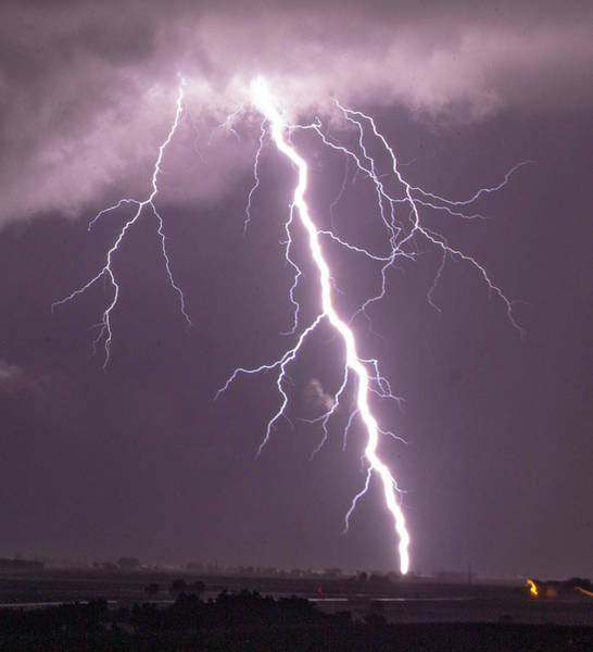 Photograph - Nebraska Arcus And Lightning 046 by NebraskaSC