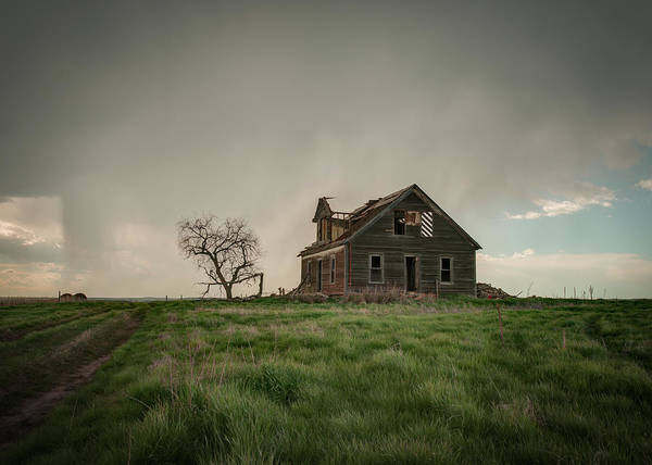 Nebraska Farm House Art Print