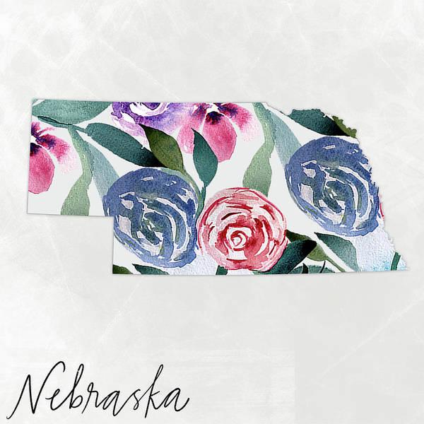 Wall Art - Mixed Media - Nebraska by Katie Doucette