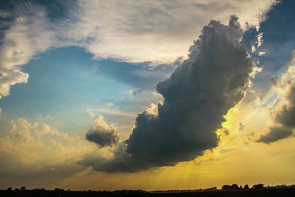 Photograph - Nebraska Sunset Thunderheads 003 by NebraskaSC