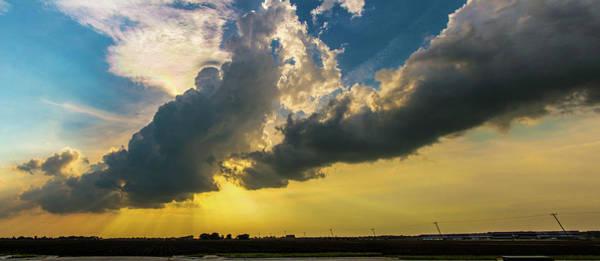 Photograph - Nebraska Sunset Thunderheads 006 by NebraskaSC