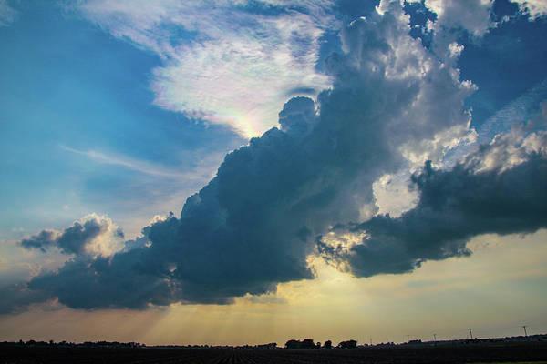 Photograph - Nebraska Sunset Thunderheads 007 by NebraskaSC