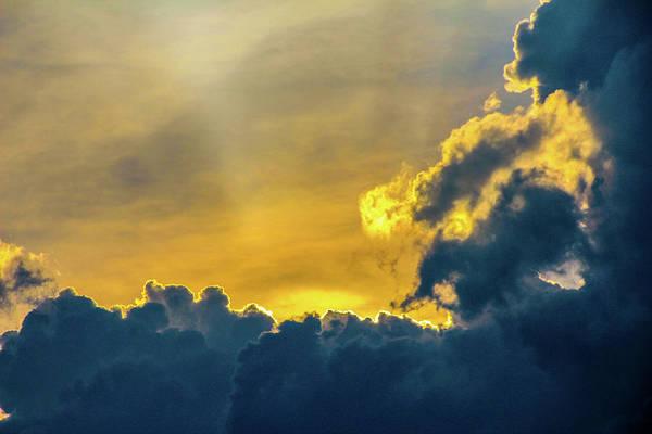 Photograph - Nebraska Sunset Thunderheads 028 by NebraskaSC