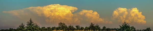 Photograph - Nebraska Sunset Thunderheads 042 by NebraskaSC