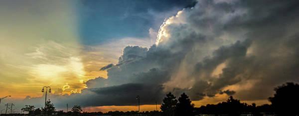 Photograph - Nebraska Sunset Thunderheads 048 by NebraskaSC