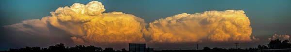 Photograph - Nebraska Sunset Thunderheads 051 by NebraskaSC