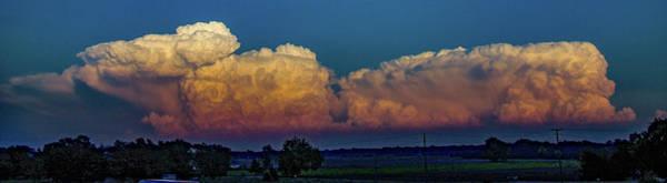 Photograph - Nebraska Sunset Thunderheads 055 by NebraskaSC