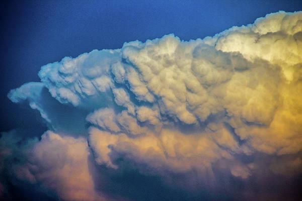 Photograph - Nebraska Sunset Thunderheads 056 by NebraskaSC