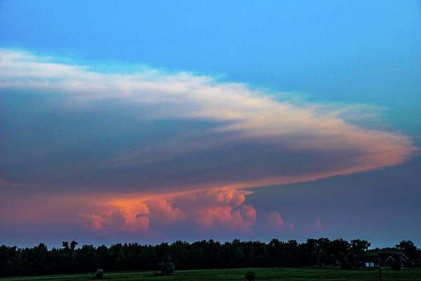 Photograph - Nebraska Sunset Thunderheads 057 by NebraskaSC