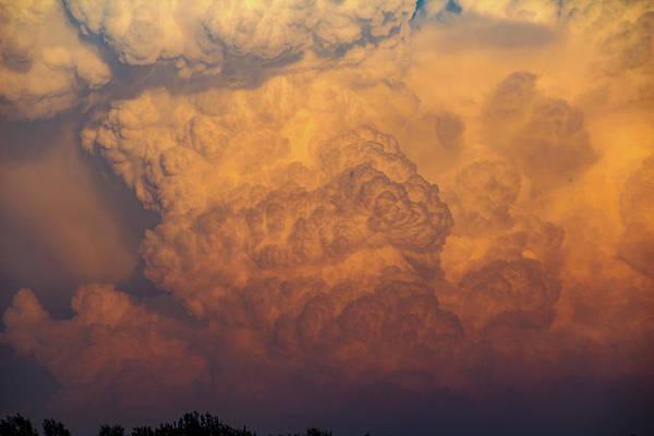 Photograph - Nebraska Sunset Thunderheads 058 by NebraskaSC