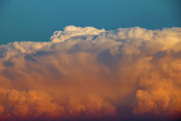Photograph - Nebraska Sunset Thunderheads 060 by NebraskaSC