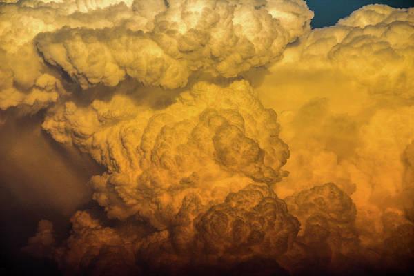 Photograph - Nebraska Sunset Thunderheads 064 by NebraskaSC